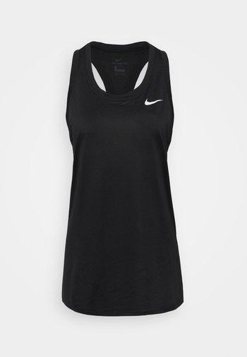 TANK - T-shirt sportiva - black/white