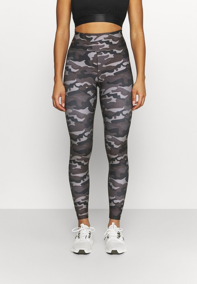PRINTED SPORT  - Leggings - grey