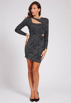 Shift dress - mehrfarbig schwarz
