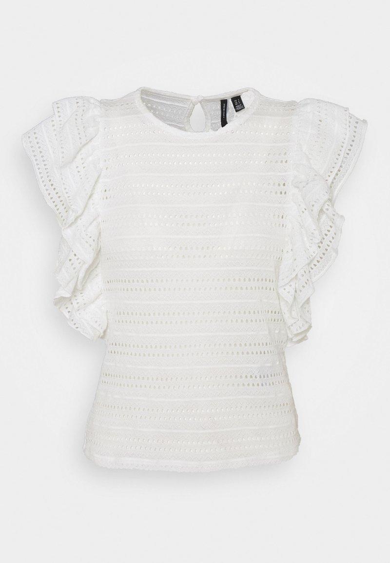 Vero Moda Petite - VMAMANDA - Basic T-shirt - snow white