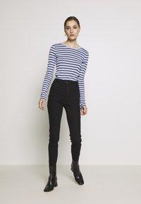 GAP - CREW - Topper langermet - blue stripe - 1