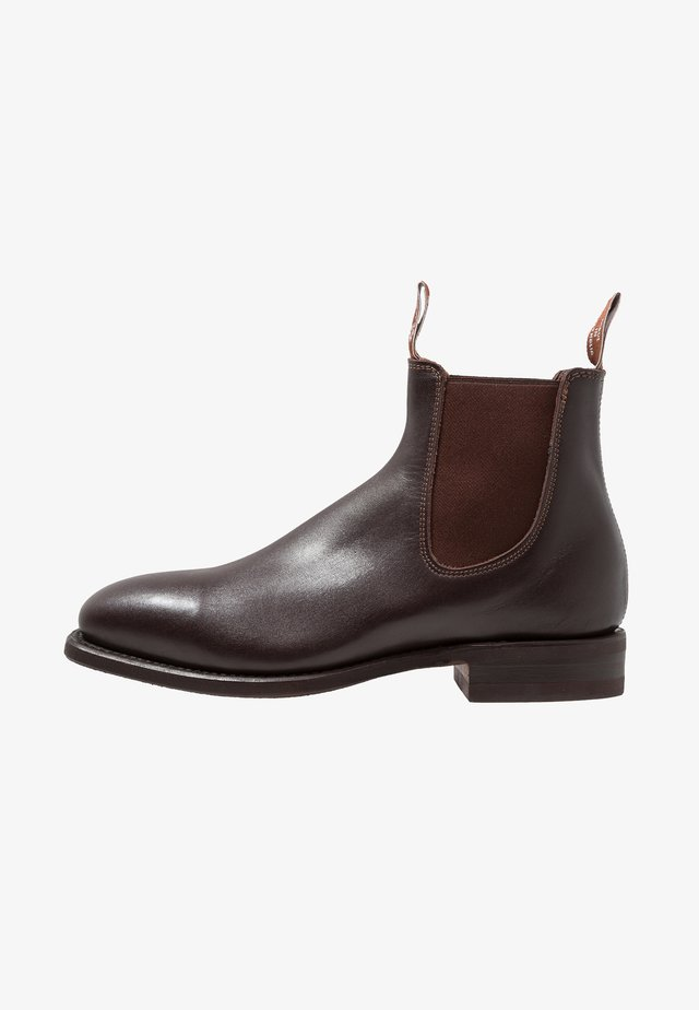 COMFORT CRAFTSMAN SQUARE G FIT - Bottines - chesnut