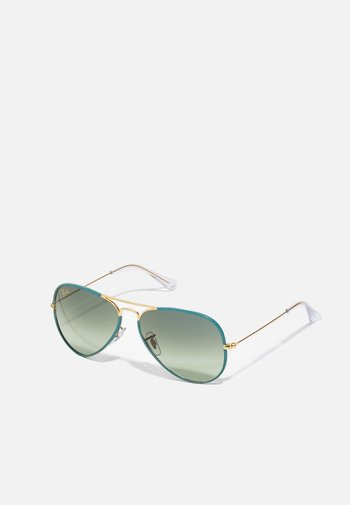 UNISEX - Sunglasses - petroleum/legend gold-coloured