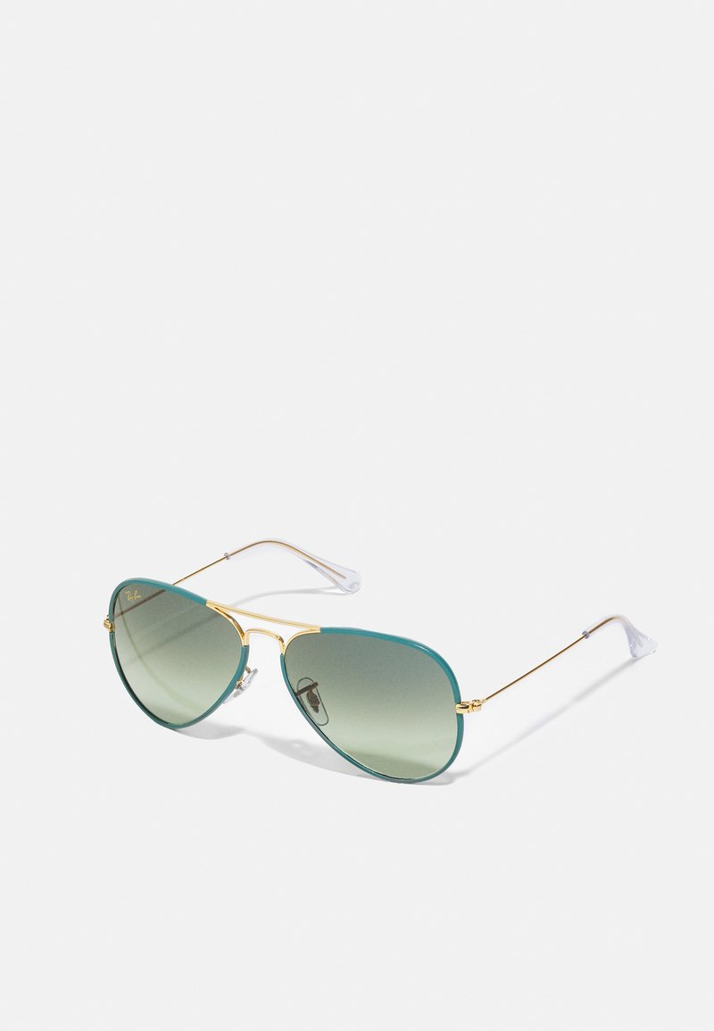 Ray-Ban - UNISEX - Sunglasses - petroleum/legend gold-coloured