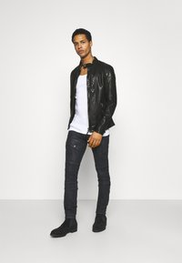 Tigha - HUTCH - Leather jacket - black - 1
