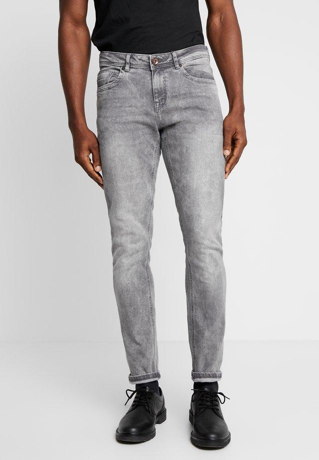 DOUGLAS - Straight leg jeans - grey used