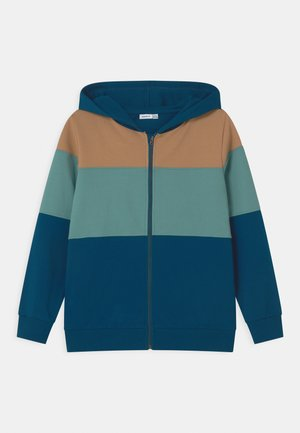 NKMNERIK - Zip-up hoodie - gibraltar sea