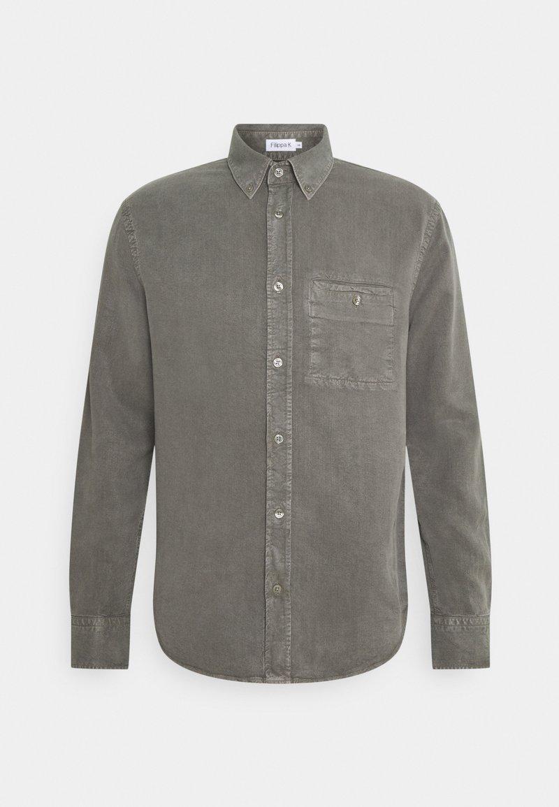 Filippa K - ZACHARY - Shirt - green grey