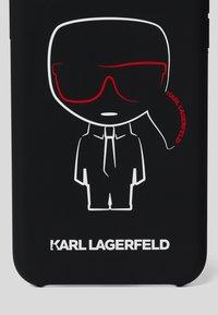 KARL LAGERFELD - IKONIK OUTLINE - Handytasche - black - 2