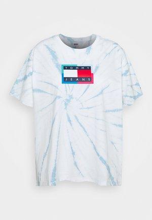 RELAXED FLAG TEE - T-Shirt print - tie dye