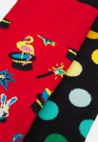Happy Socks - MAGIC SOCK BIG DOT SOCK 2 PACK - Socks - multi - 1
