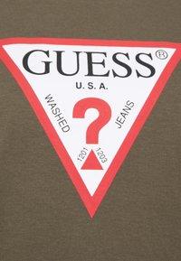 Guess - ORIGINAL - T-shirts med print - greenstone - 2