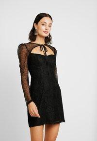 Fashion Union - CECILLE - Koktejlové šaty/ šaty na párty - black - 0