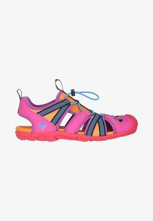 Walking sandals - himbeere