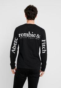 Abercrombie & Fitch - LOGO - Pitkähihainen paita - black - 2