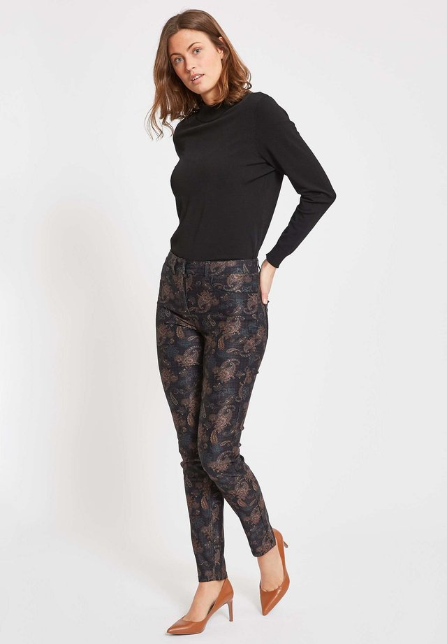LAURA - Trousers - black