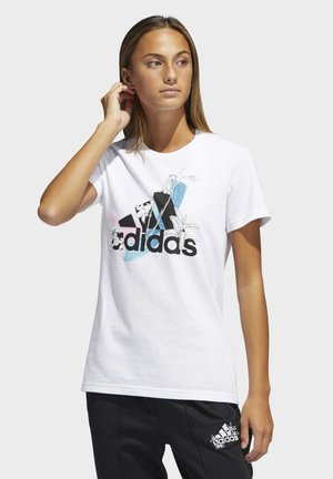 GRAPHIC SHORT SLEEVE T-SHIRT - T-shirt imprimé - white