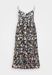 YASVALETTA STRAP MIDI DRESS SHOW - Day dress - black
