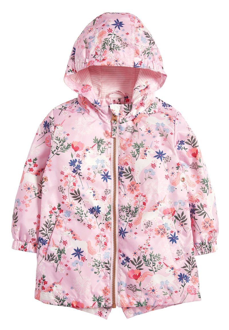 Next - PINK UNICORN CAGOULE (3MTHS-10YRS) - Parka - pink