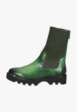 ELENA 8 - Kotníkové boty na platformě - Green