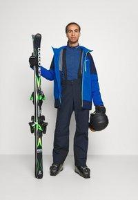 Columbia - WILD CARDJACKET - Snowboard jacket - bright indigo/collegiate navy - 1