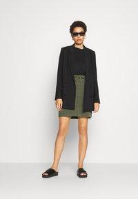 comma casual identity - Mini skirt - green - 1
