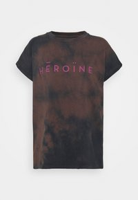 Maison Hēroïne - T-shirt print - midnight - 4