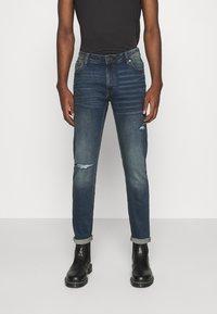Denim Project - MR.BLACK - Slim fit jeans - vintage blue - 0