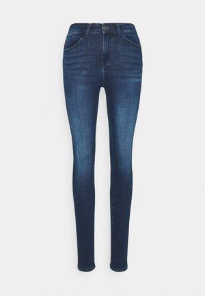 NMLUCY - Jeansy Skinny Fit - dark blue