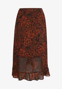 InWear - A-line skirt - cayenne poetic flower - 6