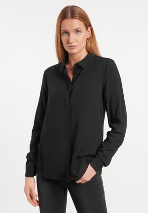 FREEDOM  - Button-down blouse - black
