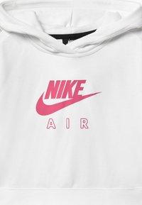Nike Sportswear - AIR CROP HOODIE - Hoodie - white/pinksicle - 2