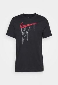 Nike Performance - DRY TEE - Print T-shirt - black - 0