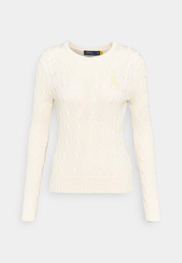Sweter - cream