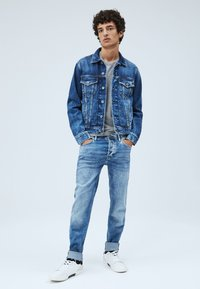 Pepe Jeans - PINNER - Denim jacket - dark blue - 1