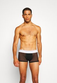 Calvin Klein Underwear - TRUNK - Culotte - black - 0