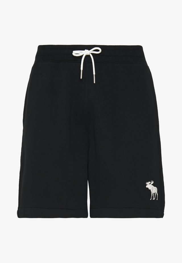 EXPLODED ICON - Tracksuit bottoms - black