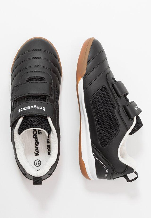 NICOURT - Sneakers laag - jet black/white