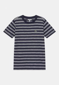 Lacoste - ROLLIS - T-shirt med print - navy blue/flour - 0