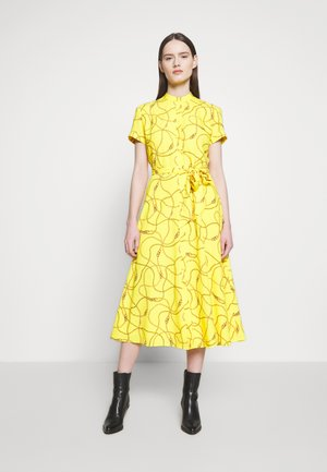 POLY DRESS - Shirt dress - dandelion fields