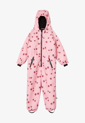 SNOWSUIT ZIPPER APPLE - Snowsuit - sea pink