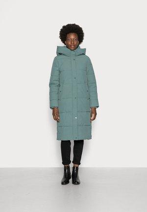 Winter coat - teal blue