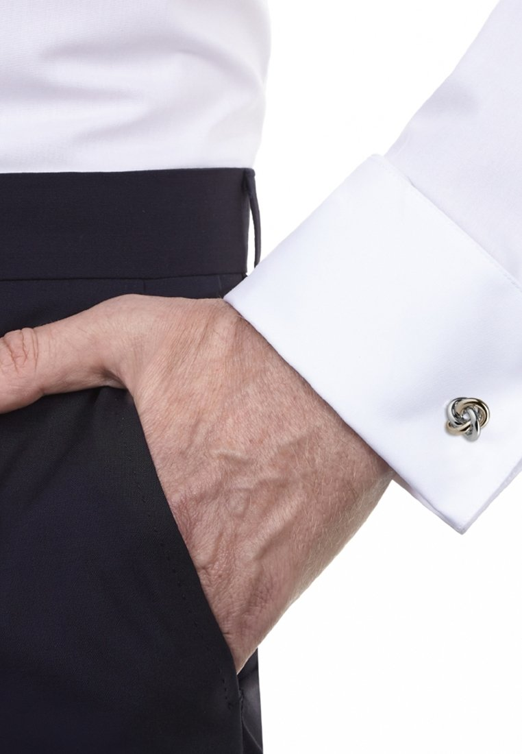Seidensticker - Cufflinks - silver-coloured