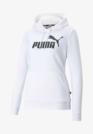 Felpa con cappuccio - puma white