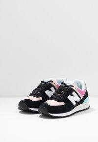 New Balance - WL574 - Zapatillas - black/pink - 4