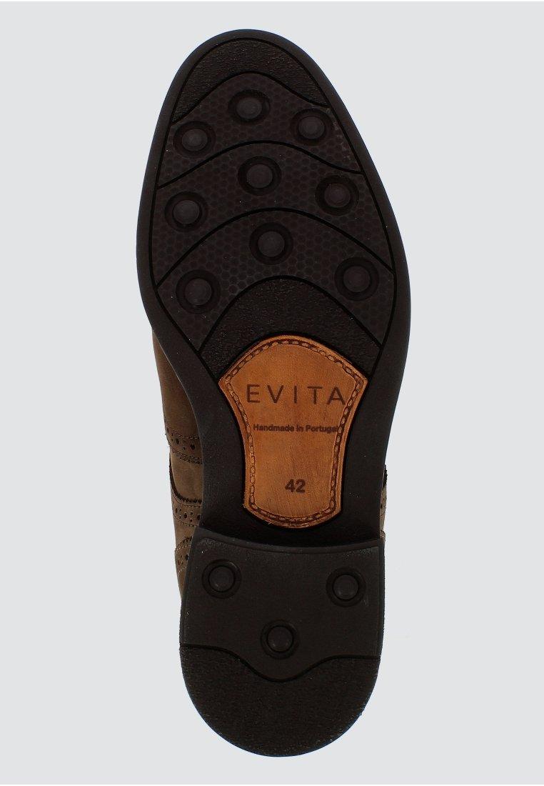 Disegni all'ingrosso Scarpe da uomo Evita ADRIANO Stivaletti stringati dunkelbraun