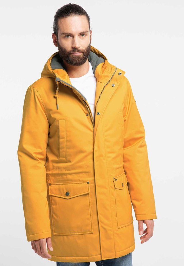 Winter coat - mustard