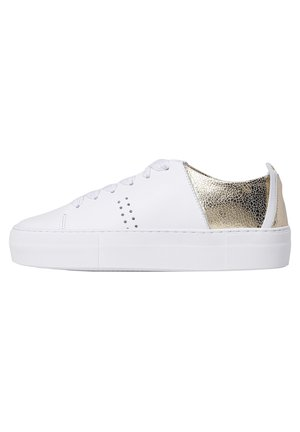 Renee plateau - Sneakers laag - white gold