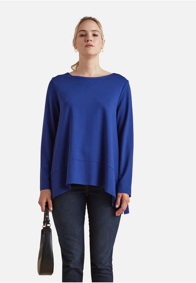 Long sleeved top - blu
