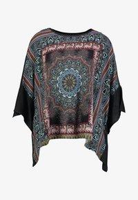 Desigual - RAMISHA - Langærmede T-shirts - black - 4